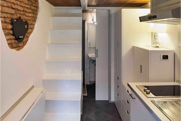 È a Roma la casa più piccola al mondo