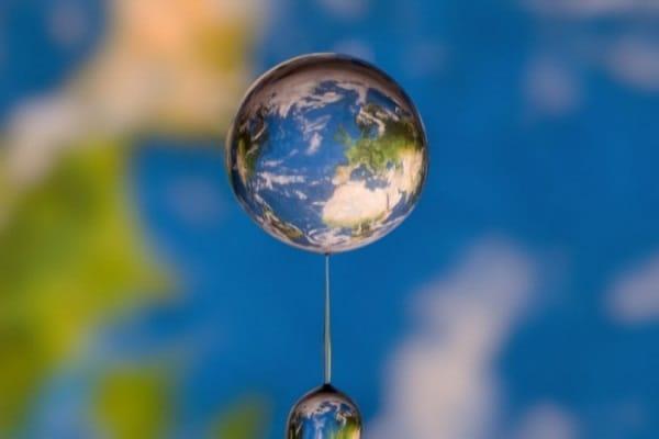 Il mondo in una goccia d'acqua!
