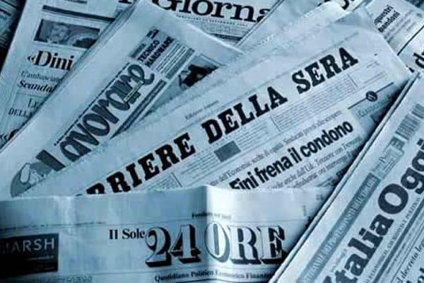 Barzelletta sui carabinieri e il giornale