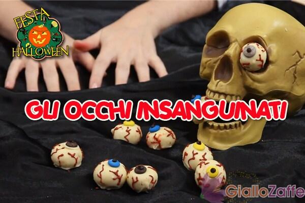 Halloween: la ricetta per gli occhi insanguinati | Video