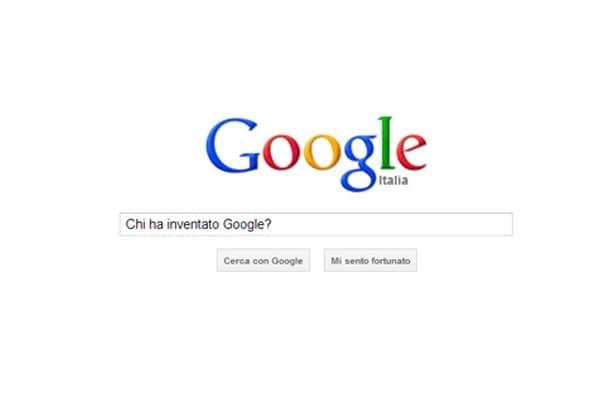 Chi ha inventato Google?