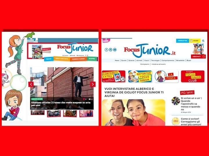 Il nuovo sito Focus Junior è online! Scopri le novità