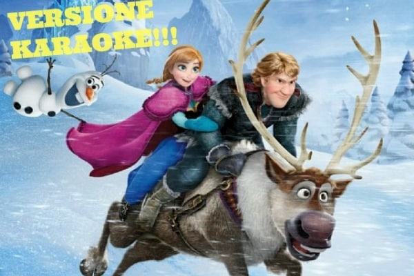 Frozen torna al cinema in versione karaoke!