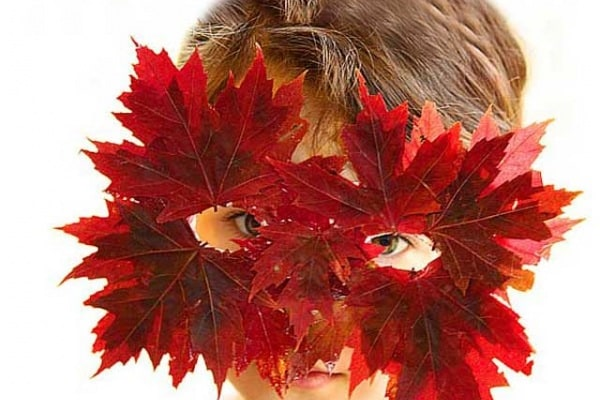 Fai da te | Come fare una maschera per Halloween di foglie