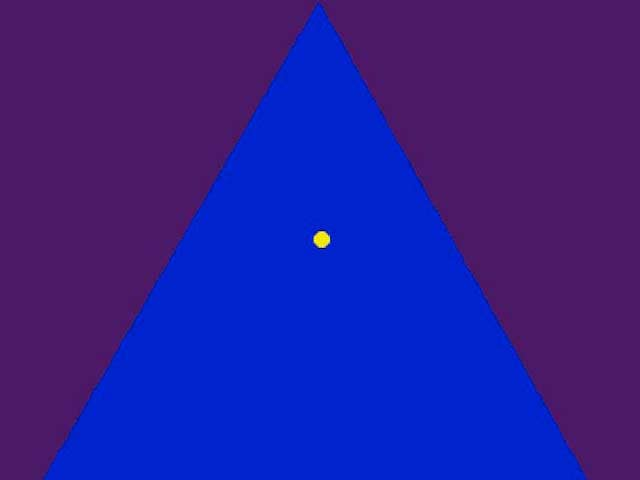 Illusioni ottiche   Il triangolo magico!
