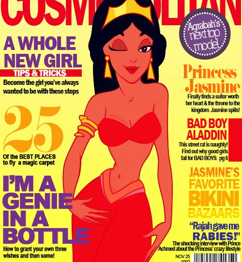 Principesse Disney in copertina!