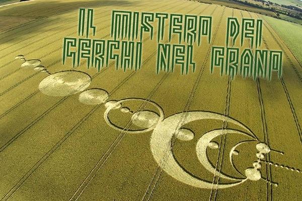 Il mistero dei cerchi nel grano: uomini burloni o messaggi degli alieni?