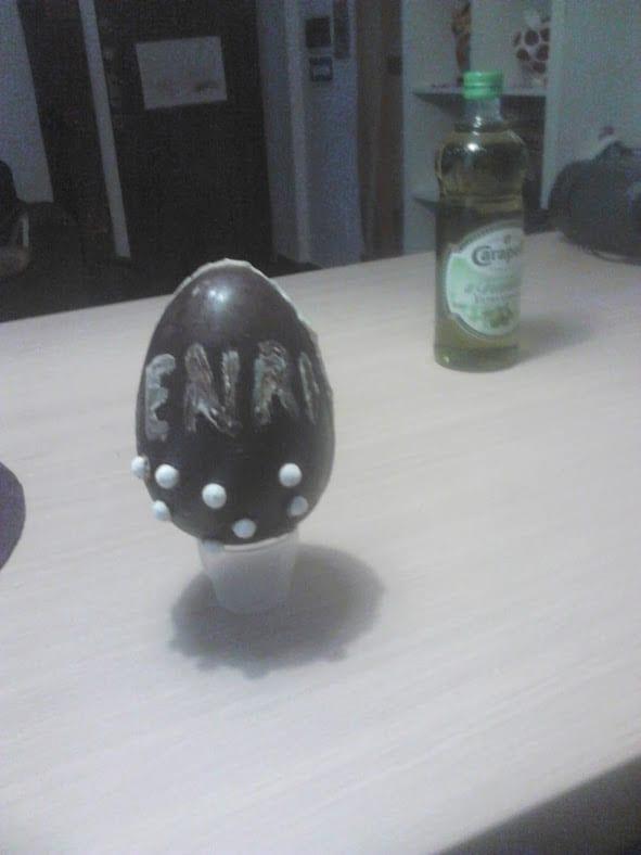 fare un uovo di Pasqua