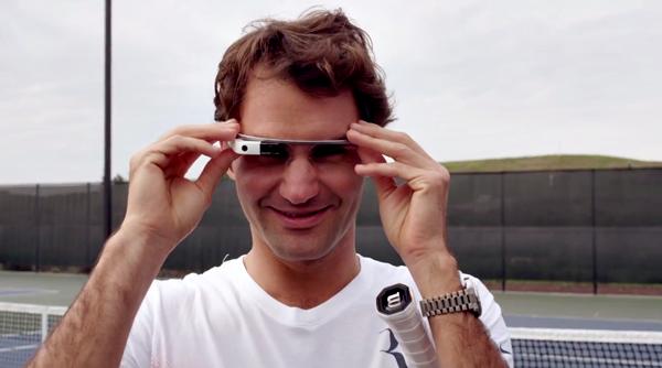 Essere Roger Federer – il campione di tennis utilizza i Google Glass