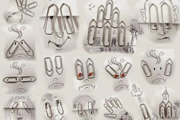 Foto curiose | Victor Nunes: i disegni 3D nascono da un elastico