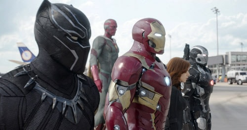 Civil War: da domani al cinema la lotta tra Captain America e Iron Man