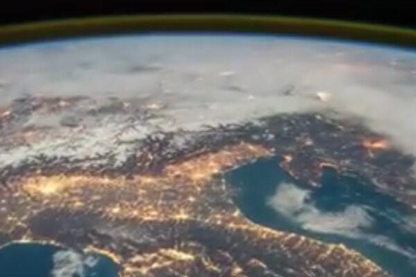 L'Italia vista dallo spazio (ripresa da un astronauta!)