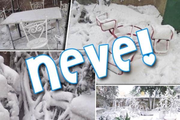 Evviva la neve! Mandateci le vostre foto!