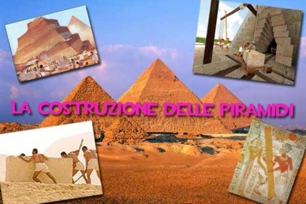 Come hanno fatto gli Egiziani a costruire le piramidi?