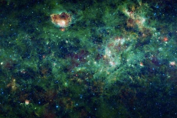 La mappa completa della Via Lattea