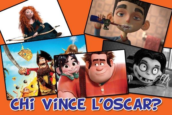 Oscar 2013: le nomination per il miglior film d'animazione