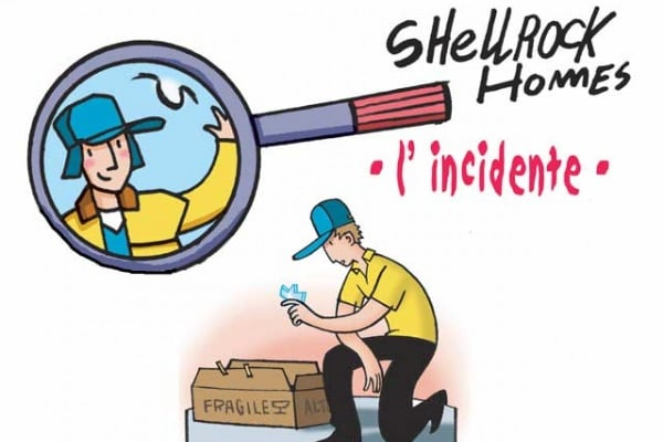 I casi dell'investigatore Shellrock | L'incidente