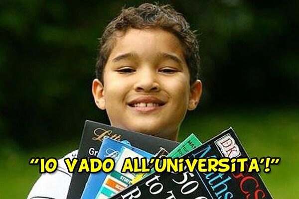 Il dodicenne che va all'università: Xavier Gordon-Brown, il prodigio della matematica