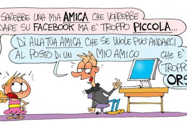 Troppo piccoli (o asociali) per andare su Facebook?