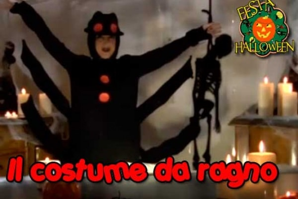 Festa per Halloween: un costume da ragno fai da te | Video