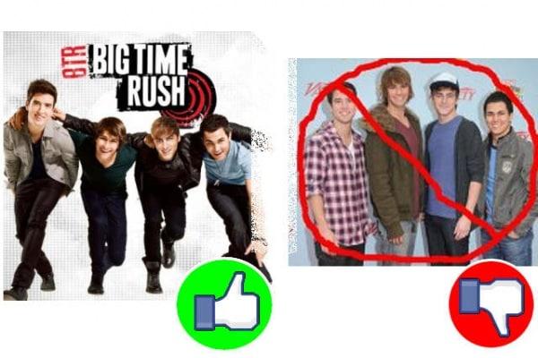 """Sondaggio : secondo te, i """"Big Time Rush"""" sono stupidi oppure no?"""