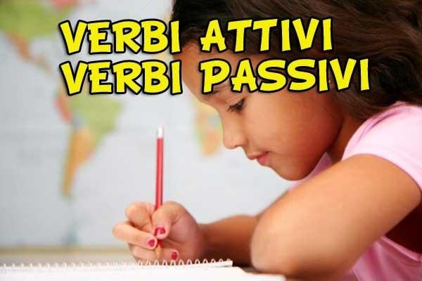 Verbi attivi e verbi passivi | Impara a riconoscerli!