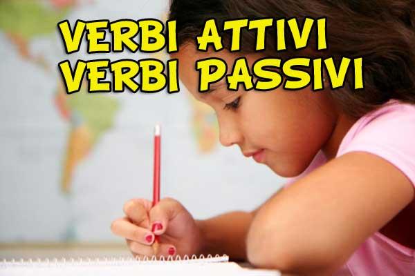 Verbi attivi e verbi passivi: impara a riconoscerli!