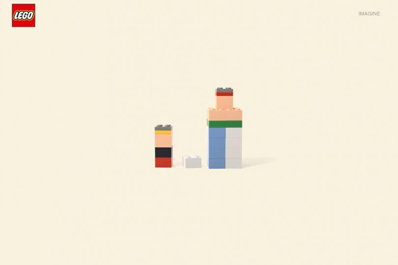 Cartoncini Lego: i personaggi dei cartoni rifatti con i Lego
