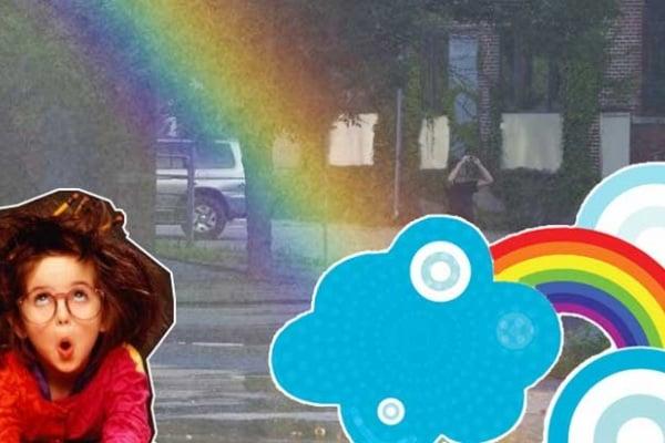 Macchina per gli arcobaleni: un'invenzione unica e magica!