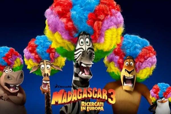 Madagascar 3 – Ricercati in Europa: trailer e anticipazioni