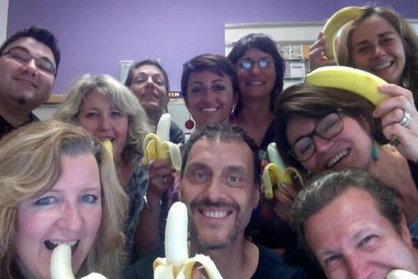 Una banana è più forte del razzismo