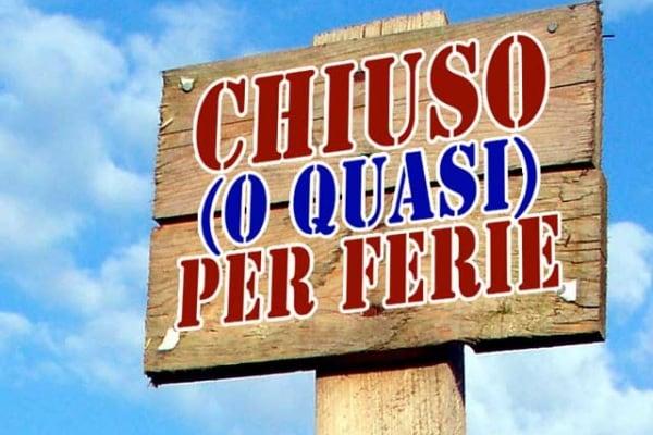 Buona settimana di Ferragosto a tutti i Focusini!