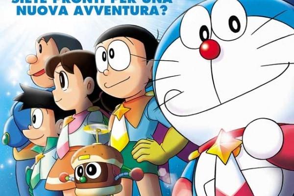 Doraemon il film – Nobita e gli eroi dello spazio arriva al cinema