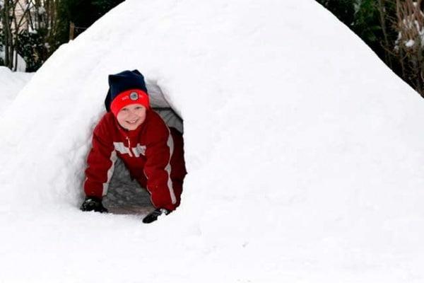 Perché dentro gli igloo non fa freddo?