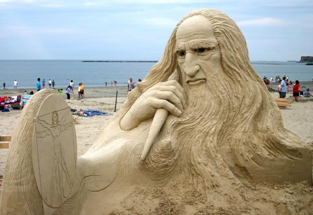 Castelli di sabbia. Le più belle sculture del mondo sulla spiaggia
