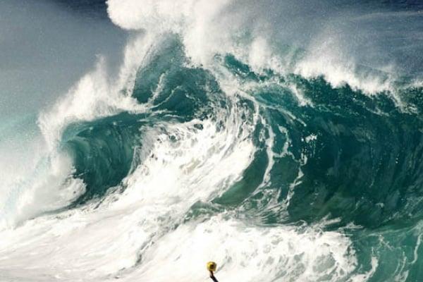 L'onda vista da dentro!