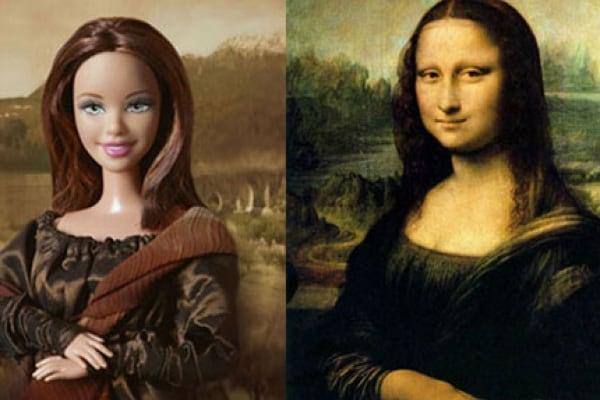 Barbie nelle opere d'arte più famose della storia!