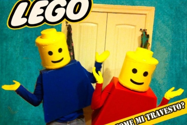 Come mi travesto? Ecco il costume da Omino Lego!