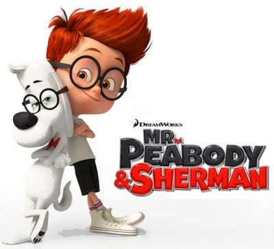 """Cinema: """"Mr. Peabody e Sherman"""", il trailer del nuovo cartone animato della Dreamworks!"""
