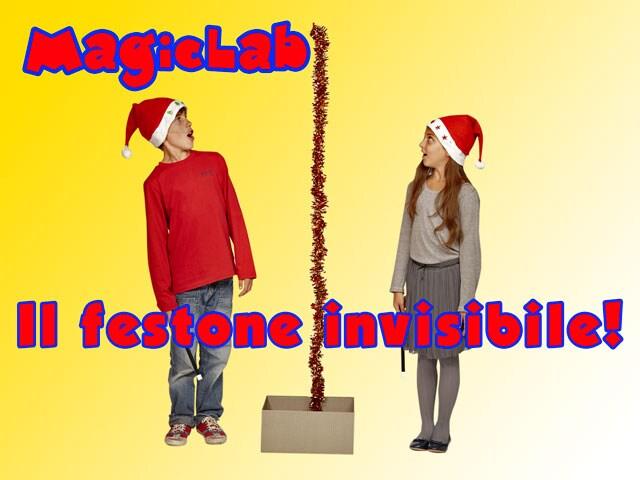 MagicLab, i giochi di prestigio di Junior | Il festone invisibile
