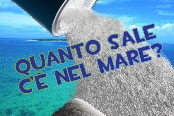 Lo sapevi che | Quanto sale c'è nell'acqua del mare?