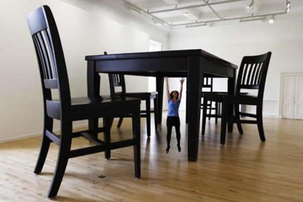 Un tavolo da pranzo gigante!