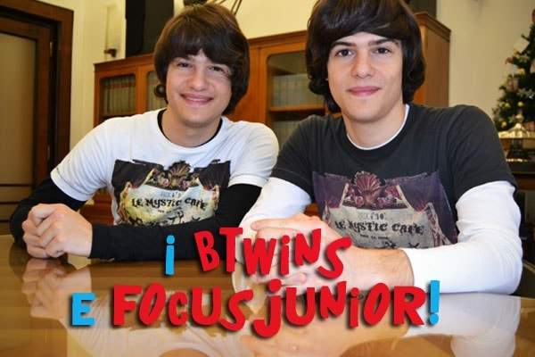Btwins: Focus Junior intervista i ragazzi di Sanremo Giovani!