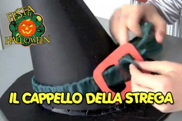 Festa per Halloween: come realizzare un cappello da strega fai da te | Video