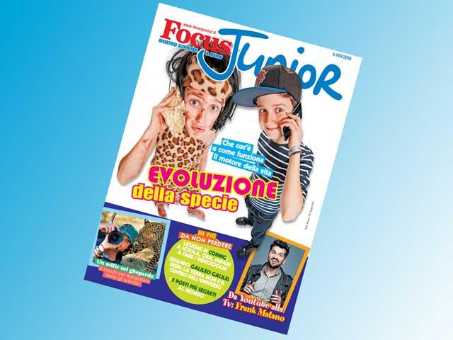 In esclusiva per voi focusini, ecco gli extra di Focus Junior n. 149!