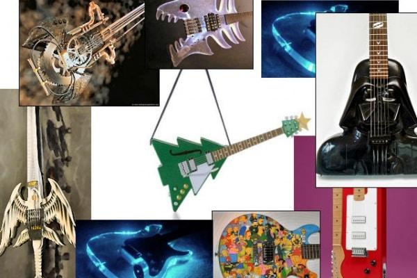 Galleria | le chitarre più belle (e strane) del mondo!