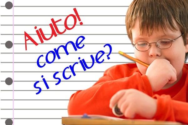 Come si scrive? Errori comuni in italiano