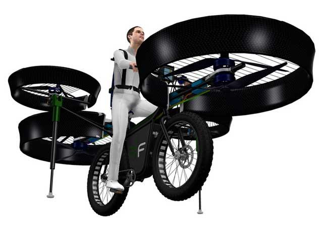 Invenzioni geniali | La bicicletta volante diventa realtà