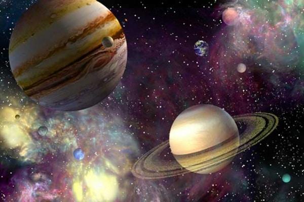 Come sarebbe la Terra se Giove si trovasse alla stessa distanza che ha la Luna da noi?