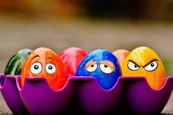 Pasqua | La fotogallery delle uova che parlano!